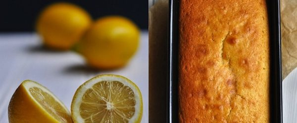 English lemon tea cake Recipe