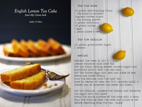 English Lemon Tea Cake Recipe - One Of My Favourites 1