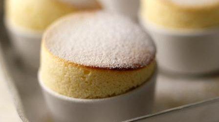 Lemon Souffle baked