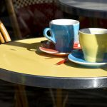 cafe tables coffee cups-LBP