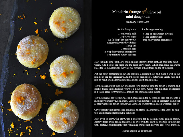 Mandarin Orange & Olive Oil Mini Doughnuts 1